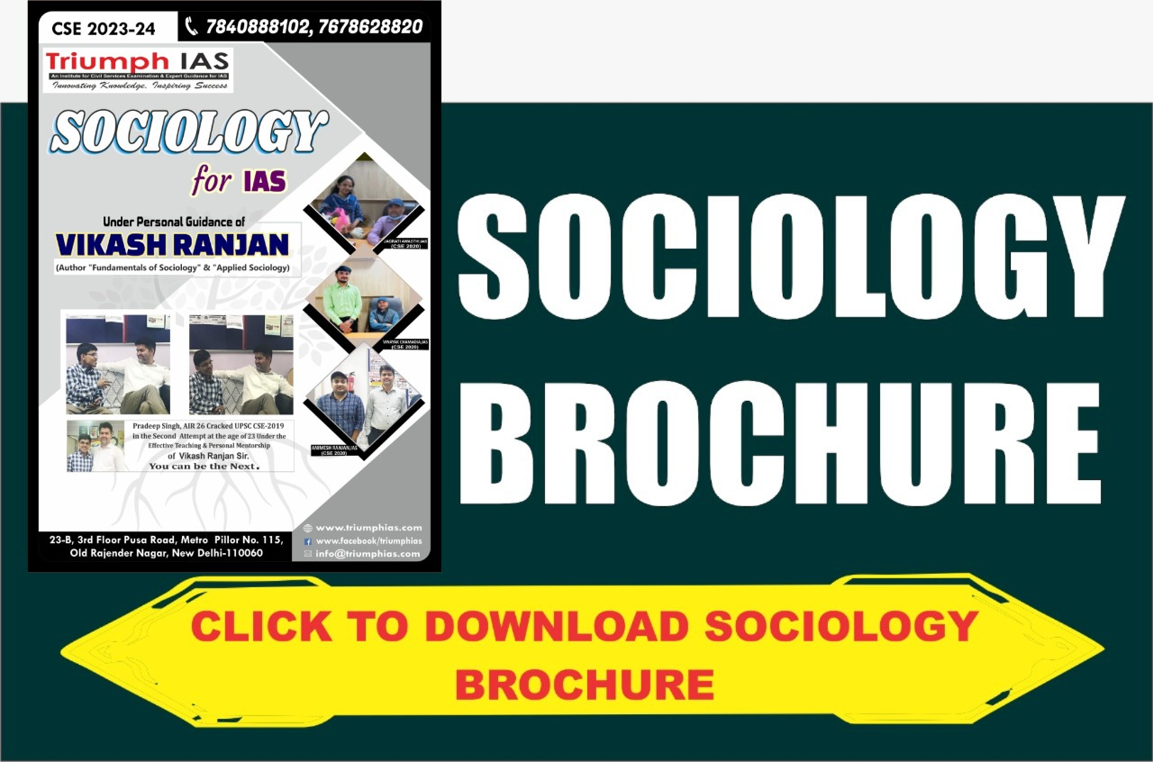 Sociology-Brochure